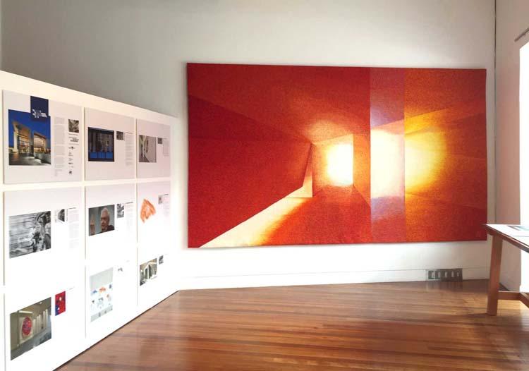 TDPA 2016 exhibition install at Artisan.