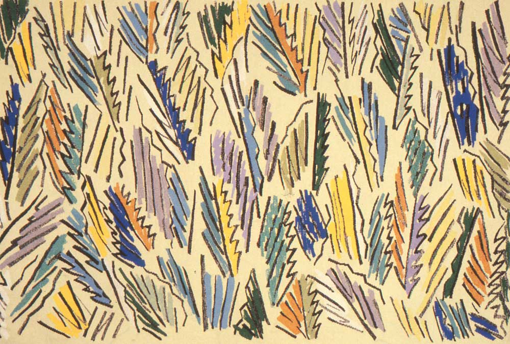 Grevillea 1981, Lesley Dumbrell Woven by Cresside Collette, Carol Dunbar and Iain Young  Wool, cotton, 1.6 x 2.5m